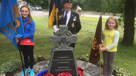 A short service was held on Armed Forces Day in St Albans