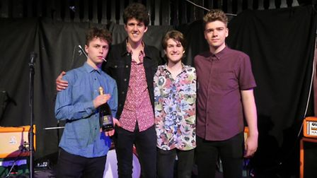 Concrete Caverns won the national final in the over 19 band category of Rock The House