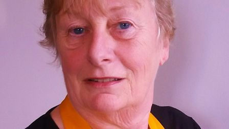 Karin Weston is the new Rotary Club of Royston president.