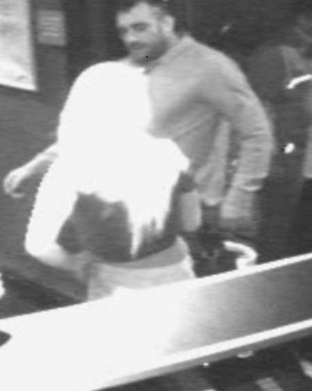 Police would like to speak to this man in connection with an incident at nightclub in St Ives.