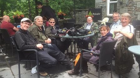 RPS members, left-to right: David Hatton, Chris Montague, Mark Fitz-Gibbons, George Barlow, Andrew F