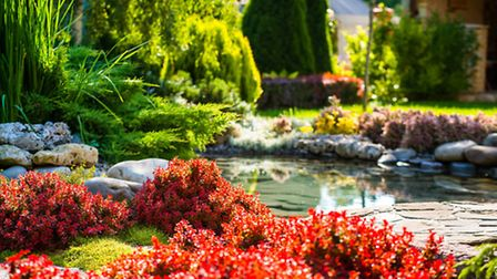 Water can create a sense of tranquility in your great outdoors