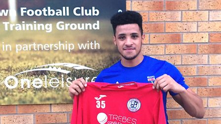 New St Ives Town signing Allan Owen.