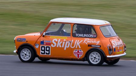 Sam Tomlinson swept to his first victory in the BARC Mighty Mini Series. Picture: PAUL ELLWOOD