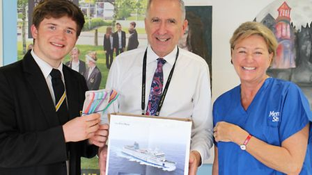 Meridian School is supporting Mercy Ships by donating toothbrushes.