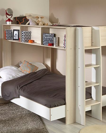 The Parisot Team Triple Sleeper fits two on the bottom, one up top