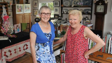 Artists Gina Ferrari and Anna Pye are opening their studios to the public for Cambridge Open studio