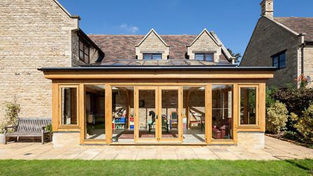 Lucky garden room owners can make this their play space