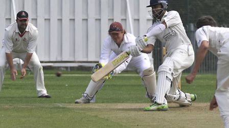 Nikhil Kumpukkal hit 72 for St Ives in their defeat at Fordham.