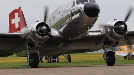 Duxford Air Show was enjoyed by thousands at the weekend. Credit Clive Porter.