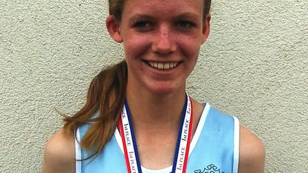Shannon Flockhart competed in the English Schools' Championships.