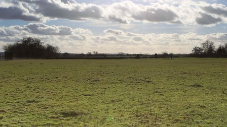 The proposed site of the Radlett rail freight depot