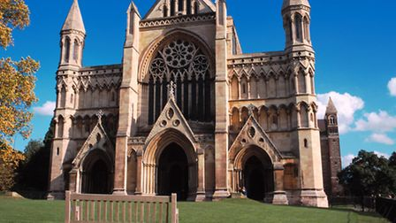 St Albans Cathedral - a popular filming location