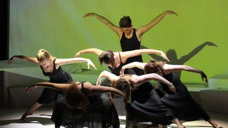 13 different schools took part in the celebratory performance to highlight the importance of dance i