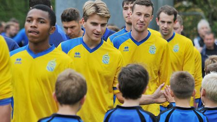 Harpenden Town are looking for a large number of the supporters to help them when they return to the