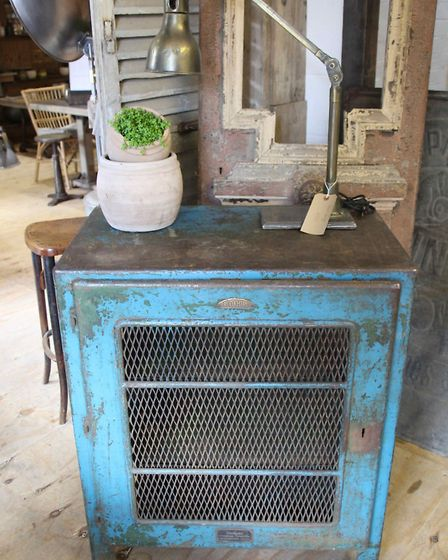 6. Repurpose a pre-loved piece of metalwork as a focal point