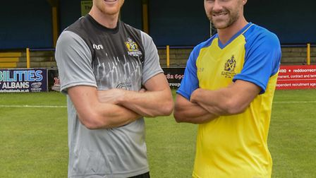 James Russell, together with Ben Herd, are two of the new signings at Clarence Park. Picture: BOB WA