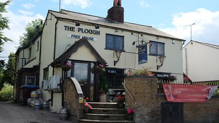 The Plough is a family-run traditional village pub