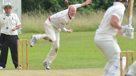 Bevis Moynan bagged four wickets for Godmanchester.
