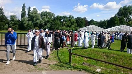 More than 800 people attended Eid in the Park, which is now in its second year