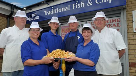 04/08/16 Traditional Fish and Chips in St Neots has been nominated as one of the best chippies in th