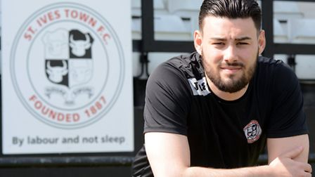 St Ives Town assistant manager Jack Cassidy.