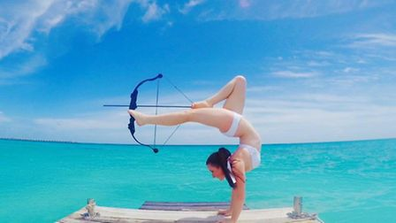 Orissa Kelly, former St Albans Girls School student, now lives in the Maldives
