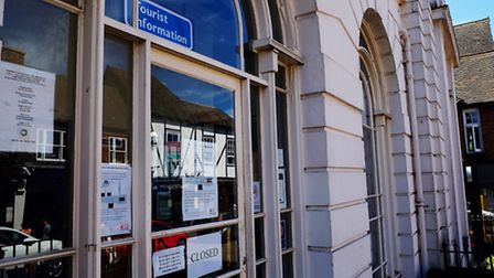 The Tourist Information Centre in the Old Town Hall has been closed