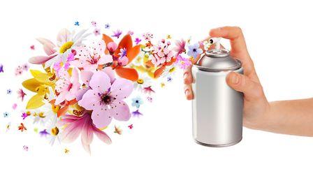 Choose your own scent with a home-made deodorising spray