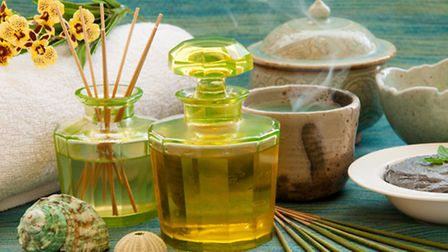 A citric-scented room diffuser creates a fresher, cleaner smell
