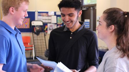 Students were delighted with the outstanding results with 97 per cent achieving grades A* - C