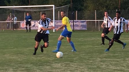 Colney Heath battled to a 2-2 draw with Sun Sports in the Spartan South Midlands League Premier Divi