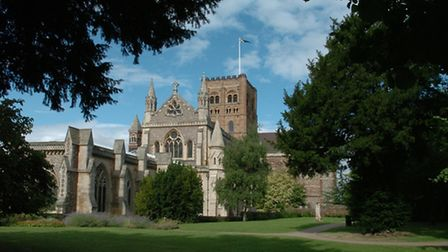 """The """"beautiful"""" cathedral is one of St Albans' main selling points"""
