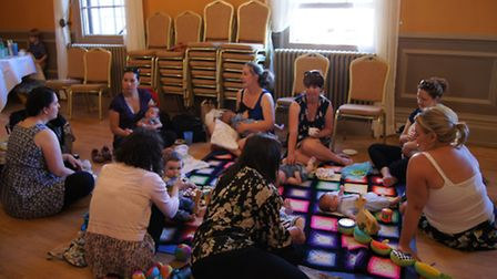The NCT Royston group work to support new parents.