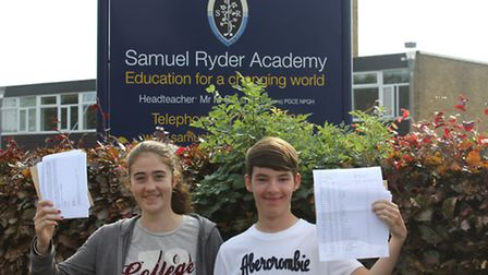 Daniel and Sophie achieved top grades in their GCSEs