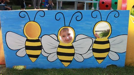 Busy Bees pupils William, 4.