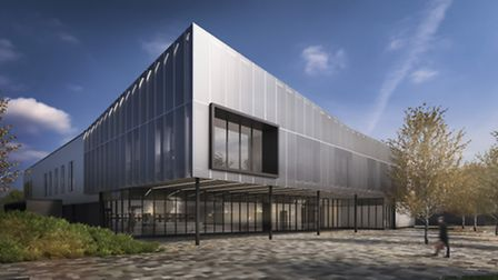 iMET building on the Alconbury Weald Enterprise Campus has been given the go ahead