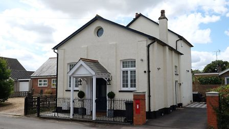 The former chapel is now a two-bed home