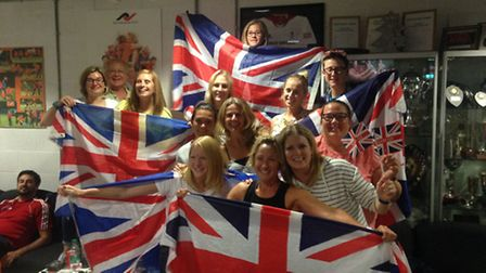 The Rio 2016 Olympic Games women's hockey final was watched by members at St Albans Hockey Club