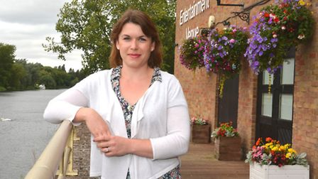 New St Neots Town Development Manager Katie Williams,