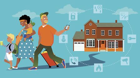 Enhanced security buys peace of mind while you're away
