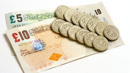 UK Bank Notes And Pound Coins
