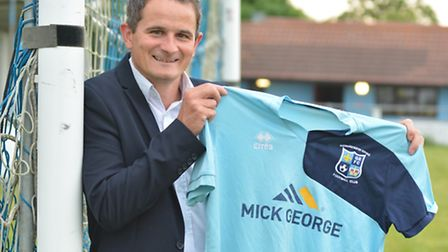 New Godmanchester Rovers manager Adie Cambridge. Picture: HELEN DRAKE