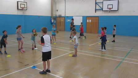 Melbourn Sports Centre hosted their annual Summer Sports Camp.