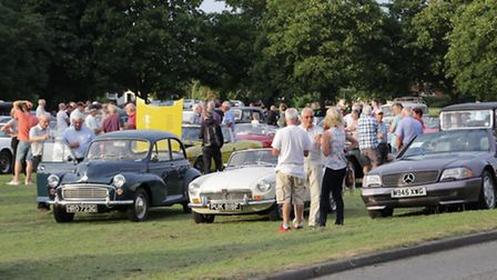 Crowds flocked to Barrington village green. PICTURE: Clive Porter.