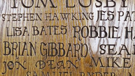 Oak panel honours boards will be installed in St Albans' new Museum and Art Gallery