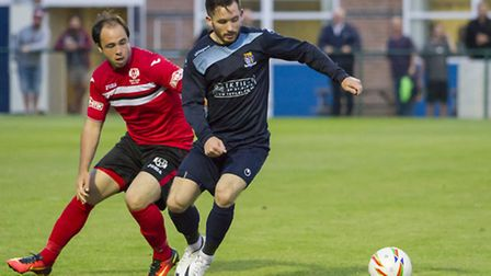 James Hall hit a hat-trick and had a hand in two other goals as St Neots beat King's Lynn in midweek