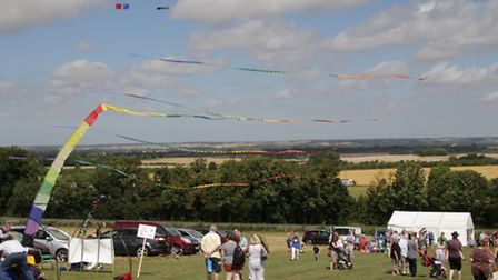 Many people came down to the Heath to enjoy the day. PICTURE: Clive Porter.