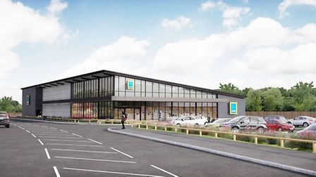 This is what Aldi will look like in Huntingdon