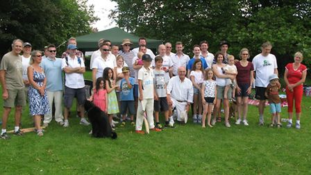 The Friends of Victoria Playing Field and the Civic Society played against St Albans councillors at